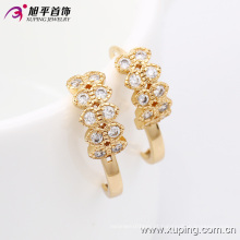 29951 Xuping venda quente mulheres presentes com brincos de ouro 18k