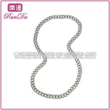 Neues Produkt für 2013 Edelstahl Kette 9.5mm Curb Link Edelstahl Halskette (24 Zoll)