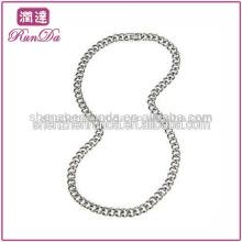 Nuevo producto para 2013 Cadena de acero inoxidable 9.5mm Curb Link Collar de acero inoxidable (24 pulgadas)