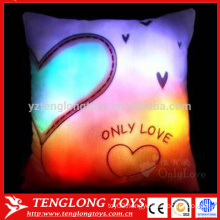 China wholesale bright light colorful shining led pillow