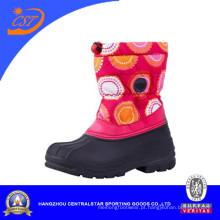 Moda crianças colorida Oxford inverno neve botas CS-02