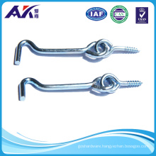 Blue Zinc Plated Safety Gate Hook with Eye Screw