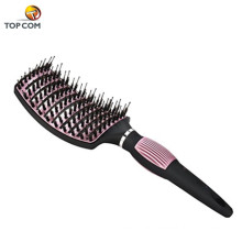 Nano Thermal Ceramic&Ionic Curved Barrel Detangling Hair Brush
