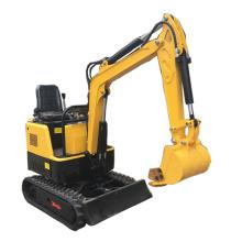 Mini size crawler hydraulic excavator