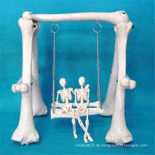 Förderung-künstliches Geschenk-Schwingen-menschliches Skeleton Modell