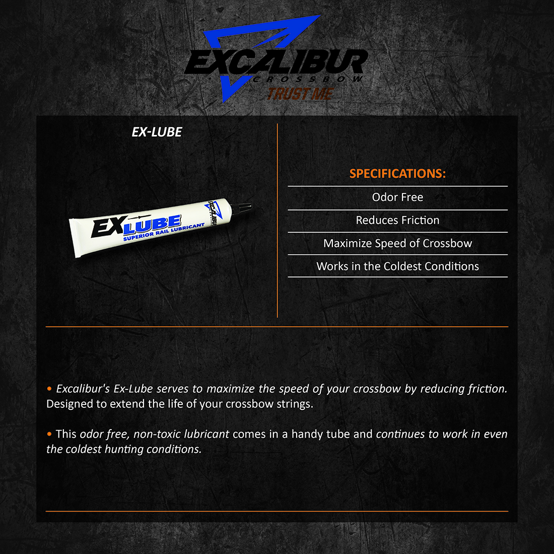 Excalibur_Ex_Lube_Product_Description