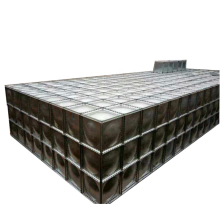 Novo tipo de tanque de água subterrâneo cúbico BDF