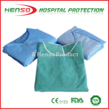 Henso PP Non woven Isolation Gown