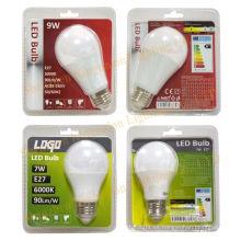 CRI 80, PF0.9, bombilla LED