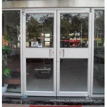 Puerta doble Puerta automática de la puerta de oscilación de la unidad