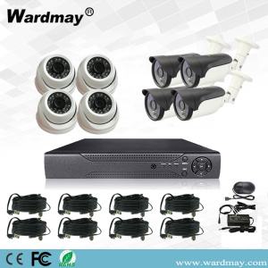8chs 3.0MP Home Security Surveillance DVR-systeemkits