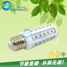 5050SMD свет водить мозоли 7w AC220v 90-260v e27 e14 теплый холодный белый
