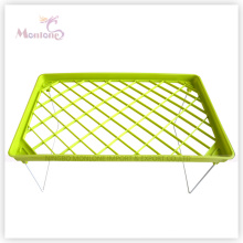 38.5*23.5 Cm One Layer Plastic Clothes Drying Shelf