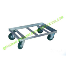 "metal Mover dolly with 4"" solid wheel"