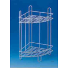 2 Tier Metal Corner Rack