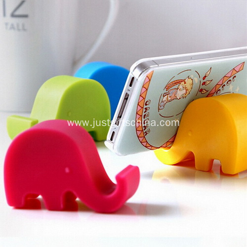 Promotional Cartoon Elephant Mobile Phone Stand