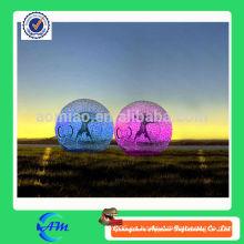 Bola inflable hermosa colorida del zorb de la bola hermosa del hamster para los cabritos y los adultos