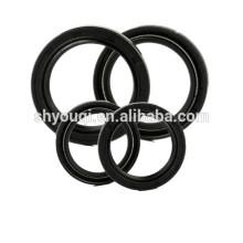 Selos de óleo de borracha nitrilo preto NBR duplo lábio tc selo do óleo do Virabrequim para auto anéis de vedação de reparação do carro