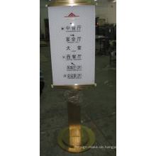 Professionelle angepasste Verkehrszeichen