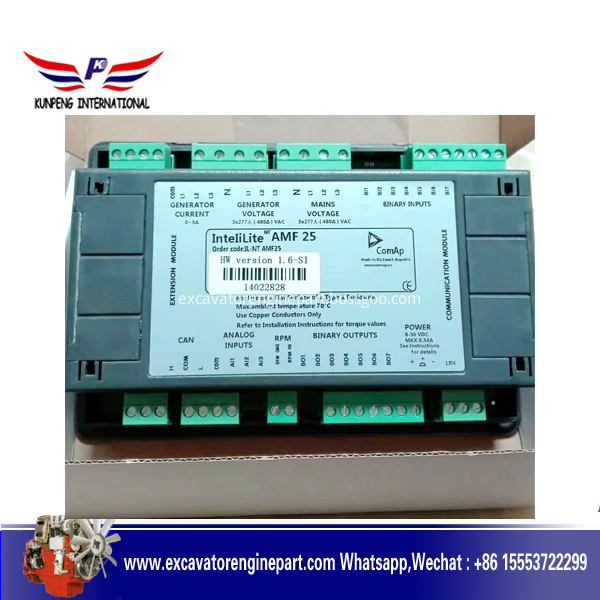 Generator Controller AMF25, Genset Control Panel AMF25