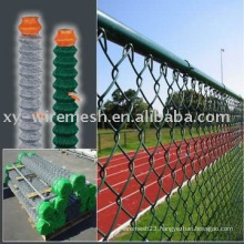 chain link fence, galvanized or hot dipped galvanized or PVC coated