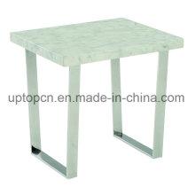 Moderna tabla de muebles Reataurant con la pierna de metal para trabajar (SP-GT430)