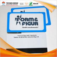 Impressão em cartão de plástico / cartão de plástico tira de ímã