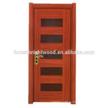 Puerta de madera del estilo de la melamina del oscilación de la moda