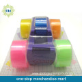 5PCS stationery tapes with 1pc tape dispenser set