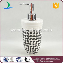 YSb40017-01-ld Hot sale decal yongsheng ceramic bath accessory lotion dispenser
