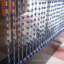 rideau suspendu de perles de bule de cristal chaud accrochant le cristal pour la décoration à la maison qui respecte l'environnement