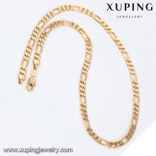 43179-Xuping cadeias de jóias em ouro 18k colar na moda