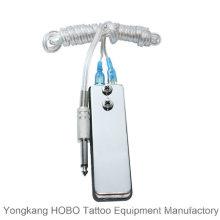 Mini pedal tipo tatuaje tatuaje tatuaje fuente de alimentación interruptor de pie