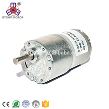high torque long liftime 12v 24v 6 v 3.5rpm robotics dc gear motor