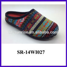 latest nice winter felt slipper for wholesale