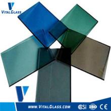 Verre réfléchissant coloré de 3 à 10 mm avec CE et ISO9001