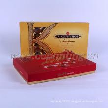 Custom chocolate food gift packaging paper box