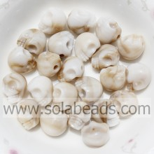 Various Size 8*10MM Skull Bone Shaped Pearl DIY Charm