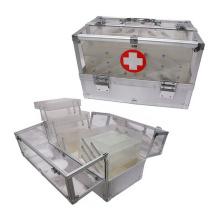 Kit de emergencia acrílico con 6 bandejas