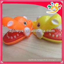 Neuestes Dinosaurier-Mund-Zahnarzt-Biss-Finger-Spiel-lustiges Spielzeug