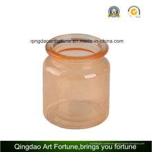 Botella de cristal del tarro de fabricantes de decoración del hogar