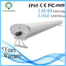 Luz da prova do tubo do diodo emissor de luz de IP65 1500mm tri para a iluminação da indústria