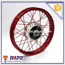 Excellente et bonne roue moto rouge de 14 po fabriquée en Chine