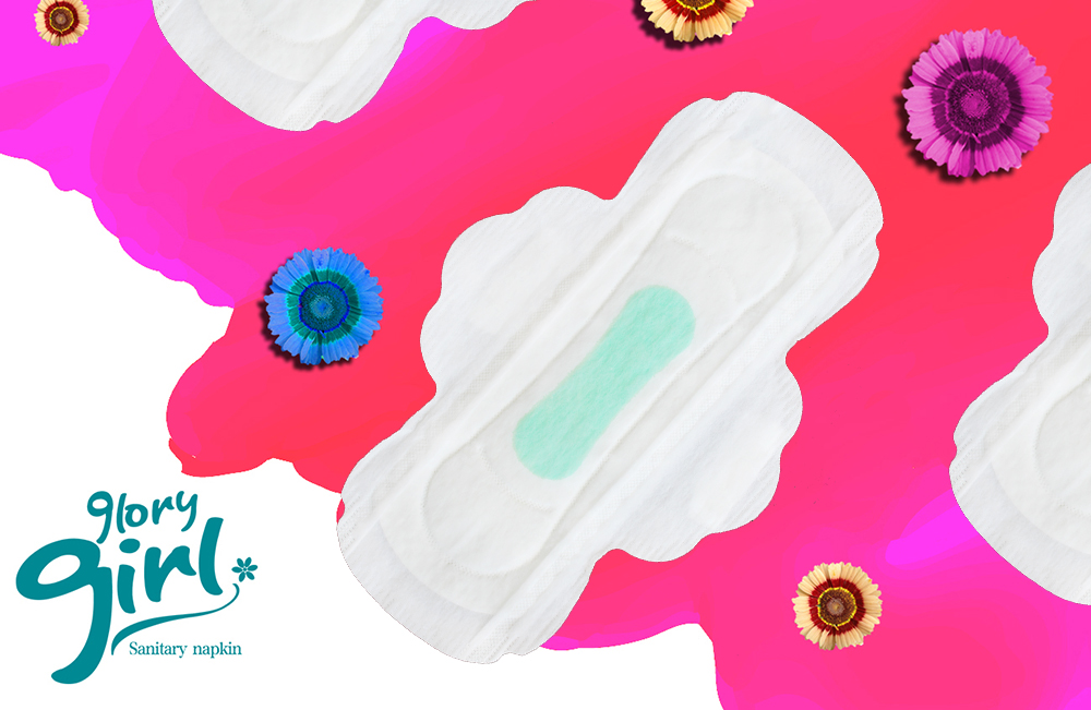Disposable sanitary pads with herbal