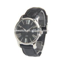 Relógios de couro de venda quente do fabricante novo do relógio romano do relógio do índice do projeto novo