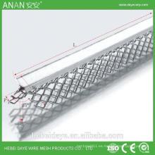 Drywall acabado esquinas angulares rebordear con los mejores materiales de construcción económica