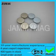 Ímãs de neodímio de disco de 3/4 polegadas