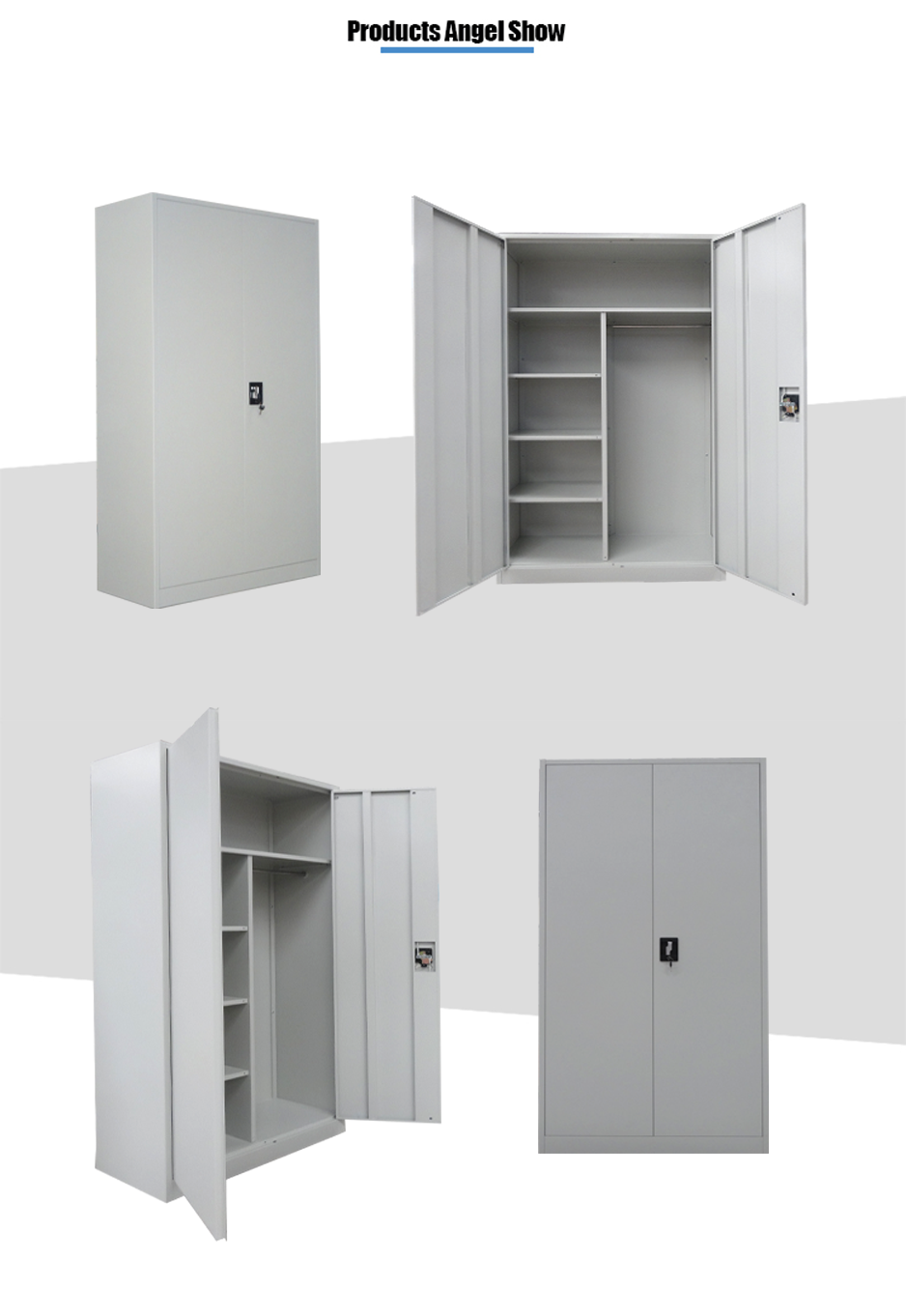 steel almirah locker cabinet