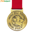 Custom Engraved  Metal Medals and Soccer Medals