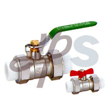 brass PP-R ball valve